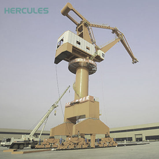 China Hydraulic Wire Rope Luffing Jib Crane for Hot Sale - China ...