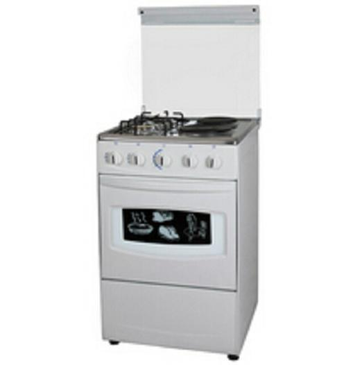 20'' Free Standing Stove with Oven (2 gas & 2 Electric)