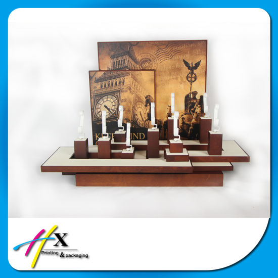 Luxury Custom Wooden Watch Display for Storing pictures & photos