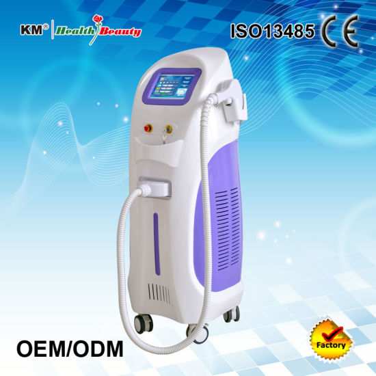 Painless Vertical Permanent Hair Removal 808nm Diode Laser Machine pictures & photos