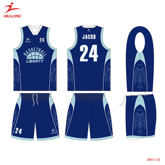 32fe89904f1 Healong Top Sale Sportswear 2018 New Design Sublimation Basketball Jersey  pictures   photos
