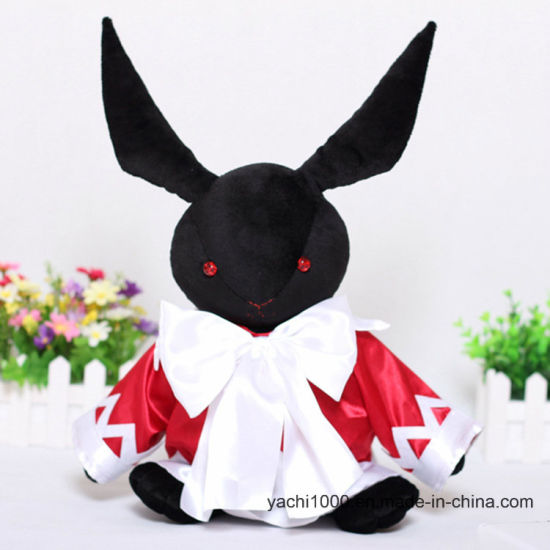 Custom Stuffed Soft Plush Halloween Gifts Rabbit Toy