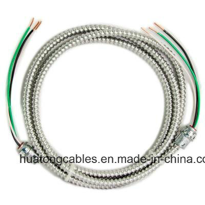 UL 1569 3X10 3X8 3X6 AWG Steel/Aluminum Tape Armoured Mc Cable pictures & photos