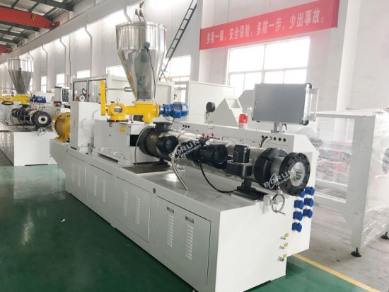 China Factory Good Price Plastic Pipe Extrusion Cutting Machine pictures & photos