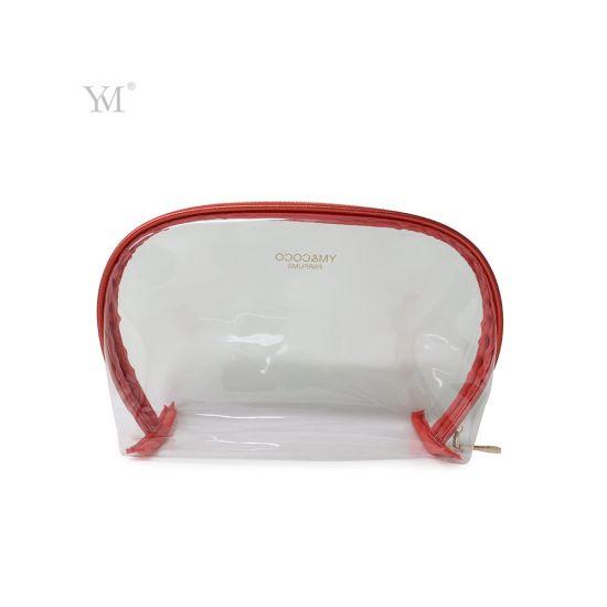 122496c00506 China 2018 Hot Sell Nylon Zipper PVC Cosmetic Travel Bag Makeup Bag ...