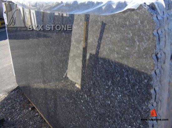 Imported Blue Pearl Granite Slabs for Kitchen Countertop/Vanity Top pictures & photos