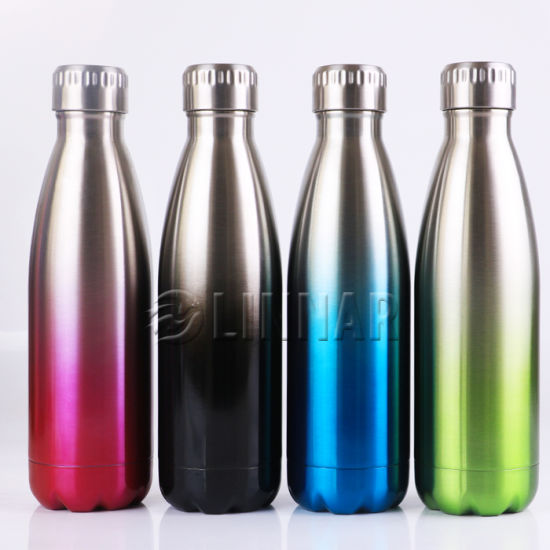 8824534e8f China Double Walls Stainless Steel Water Bottle in Unique Color ...