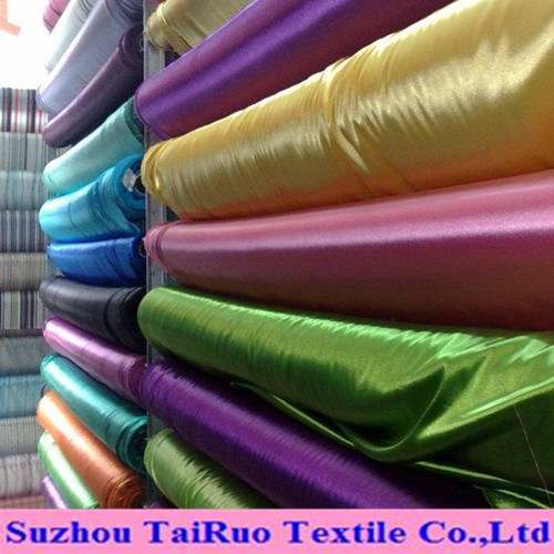Polyester Stretch Satin for Garments Lining pictures & photos