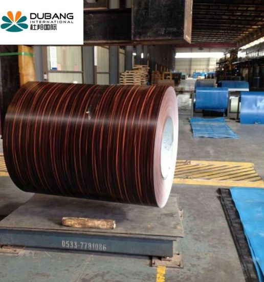 Color Coated Galvanized Steel Coils PPGI for Making Door pictures & photos