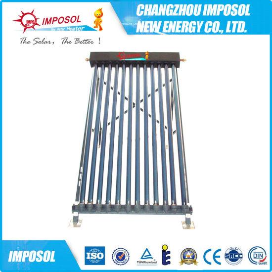 Flat Plate Collector Solar Heat Pipe, Vacuum Collectors Solar