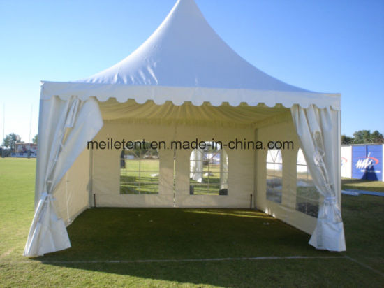 5X5m Sunproof PVC Canvas Aluminum Frame Pormotion Sun Shelter pictures & photos