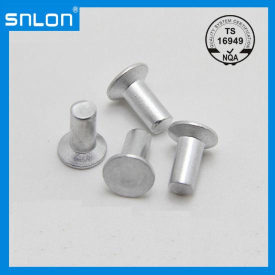 Flat Head Aluminum Rivets Countersunk Solid Rivet