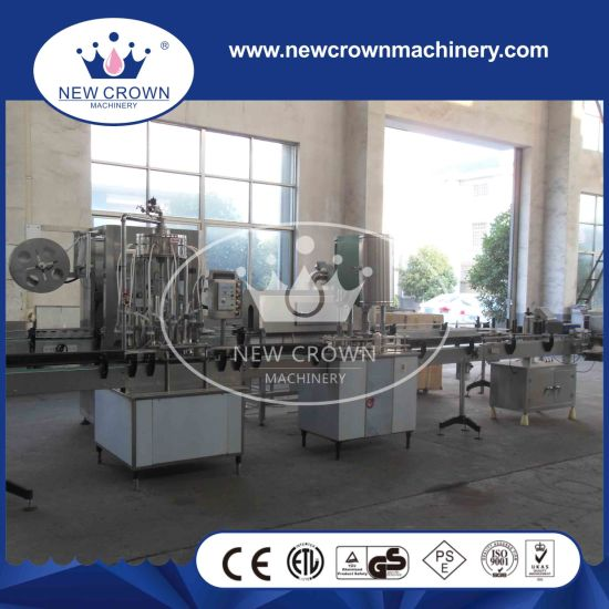 Factory Price Automatic Negative Pressure Glass Bottle Juice Filler pictures & photos