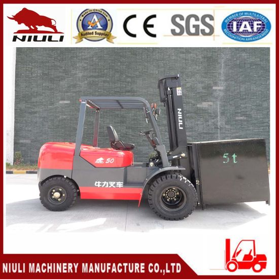 China Factory for 5.0 Ton Diesel Forklift Truck pictures & photos