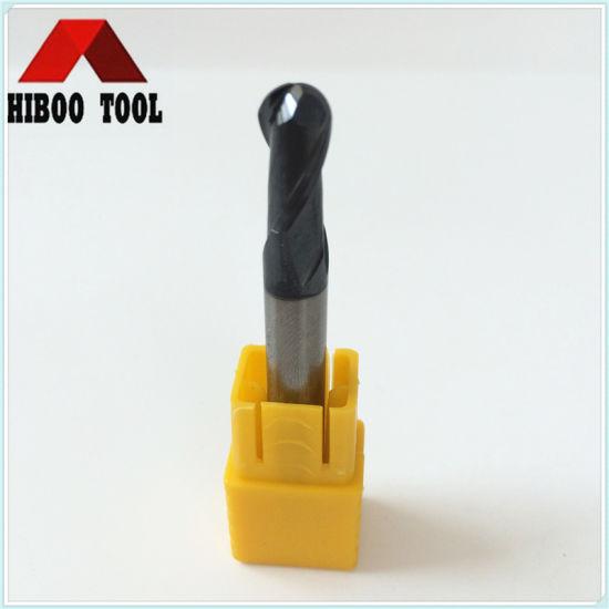 HRC45 Hard Alloy Z2 Ball End Carbide Cutter