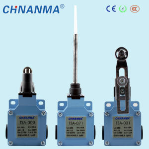 Tsa Series Push Plunger Type Heavy Duty Aluminium Mini Door Electric Limit Switch