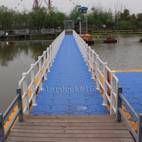 HDPE Plastic Modular Floating Pontoon Bridge for Modular Floating Pontoon Supplier in China
