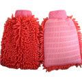 Plain Color Microfiber Chenille Car Wash Glove