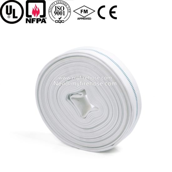 3 Inch High Temperature Resistant PU Braided Fire Hose Price pictures & photos