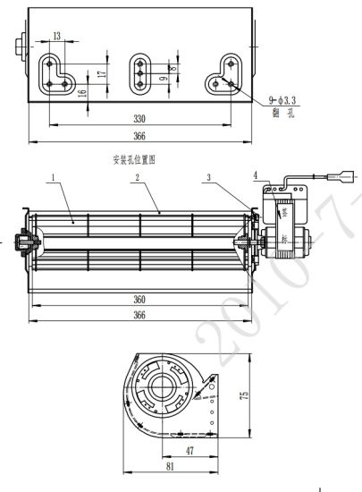 Factory Sale Fan Motor for House Application pictures & photos