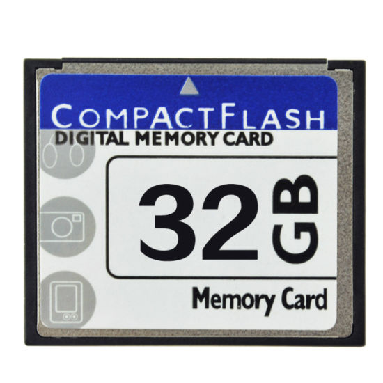 Real Capacity Compact Flash 150X 300X 600X 1000X 32GB CF Card pictures & photos