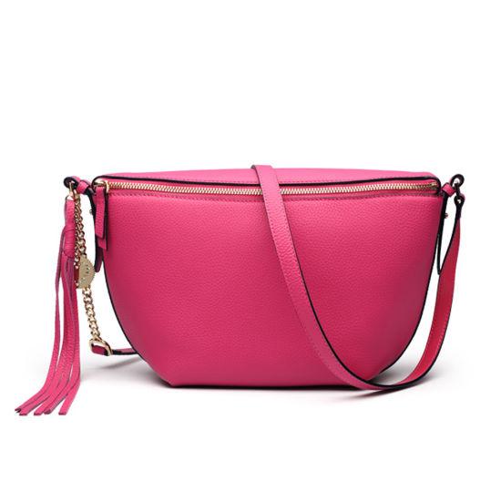 Women First Layer Cow Leather Hobo Handbag Shoulder Hand Bag