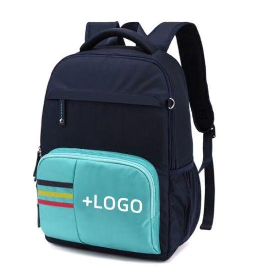 Customized Logo Primary School Student Backpack Kids School Bag