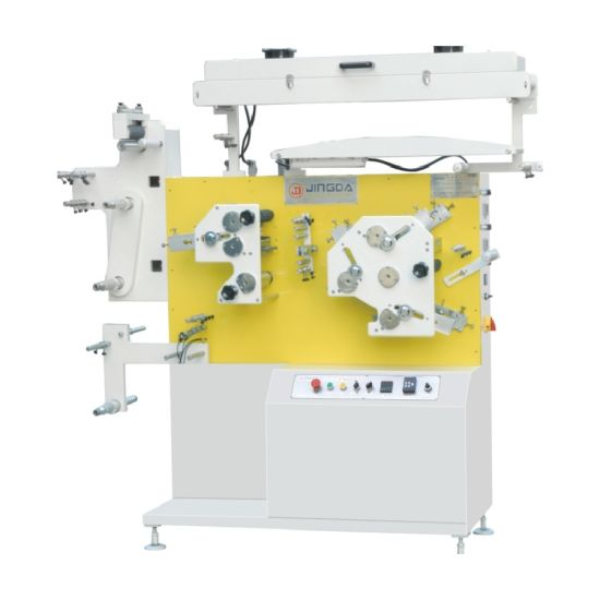Jr-1531 Flex Label Printing Machine for Satin Ribbon, Nylon Tape, Taffeta Label, Cotton Label, Textile Label