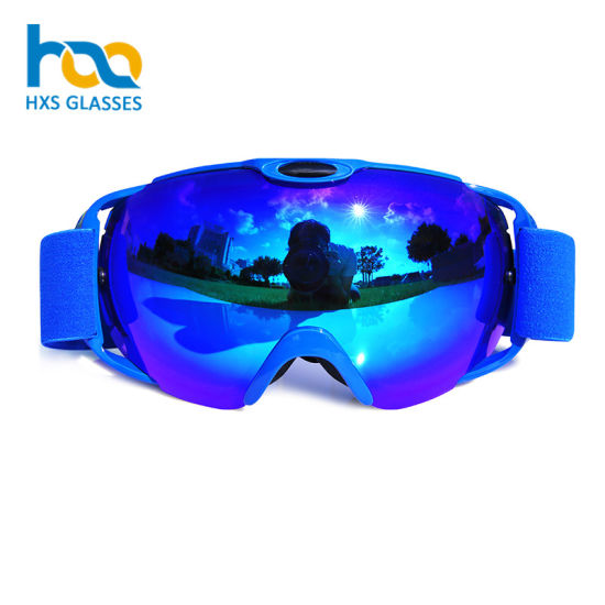 99e982e039e Custom Ski Goggle Straps Safety Glasses Snowboard Goggles Skiing Equipment  Winter Sport Eyewear