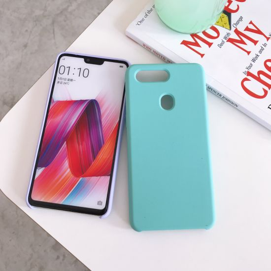 China Ultra Slim Silicone Rubber Case for Oppo R15, Soft