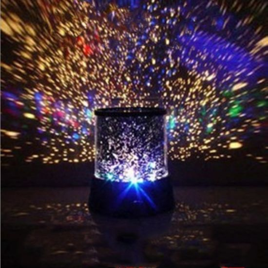 LED Night Light Starry Sky Remote Control Ocean Wave Projector