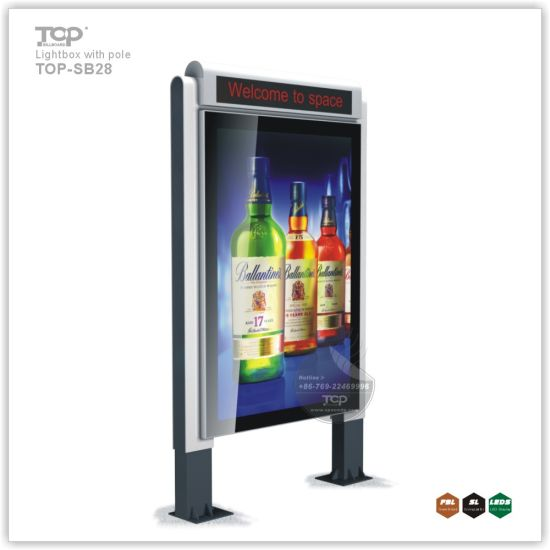 Gas Station Single Side Static Explosion Protection Light Box pictures & photos