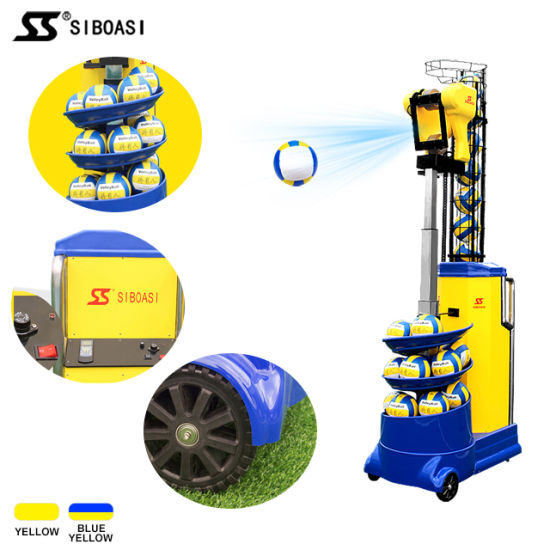Siboasi Intelligent Volleyball Training Equipment Volley Ball Shooting  Machine