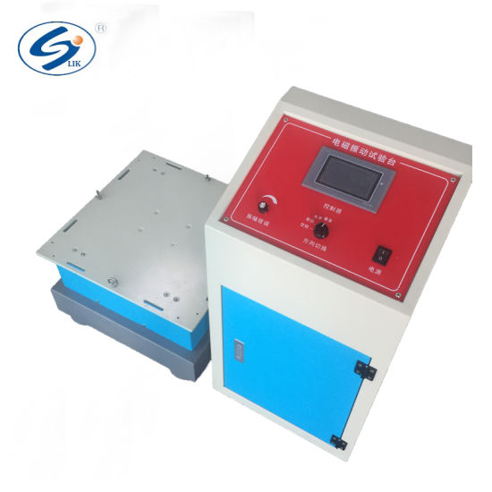 Programmable Low Frequency Electromagnetic Vibration Table