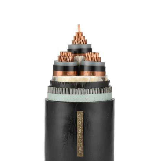 Copper Conductor XLPE Insulated Swa/Sta Armored Power Cable. Flame Retardant, Fire-Resistant Electrical Cable.