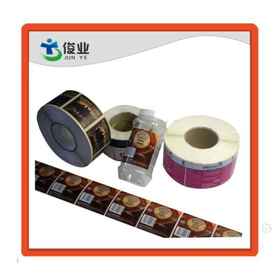 Printed Customized Colorful Sticker Label