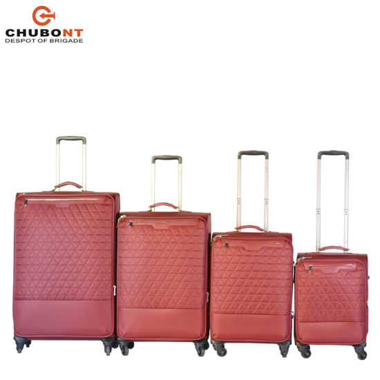 Chubont 2018 Autumn New Quilted Wholesale Travel Trolley Suitcase