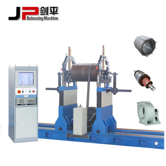 Generator Motor Rotor, Paper Mill Roller, Crusher Rotor Balancing Machine