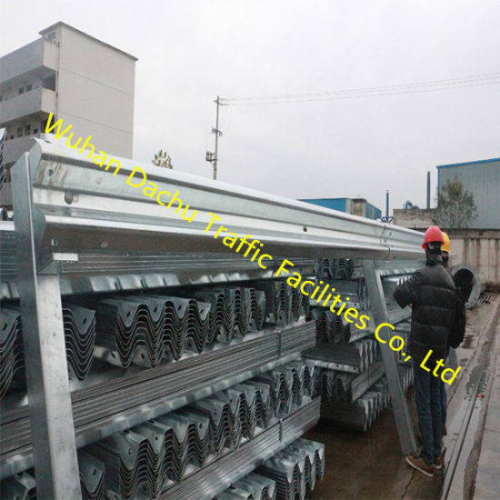 Aashto M180 Hot-DIP Galvanized Highway W Beam Guardrails for Obor Road Construction Projects pictures & photos