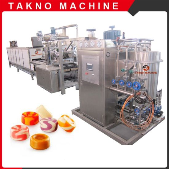 Factory Price Servo Type Full Automatic Hard Candy Machine