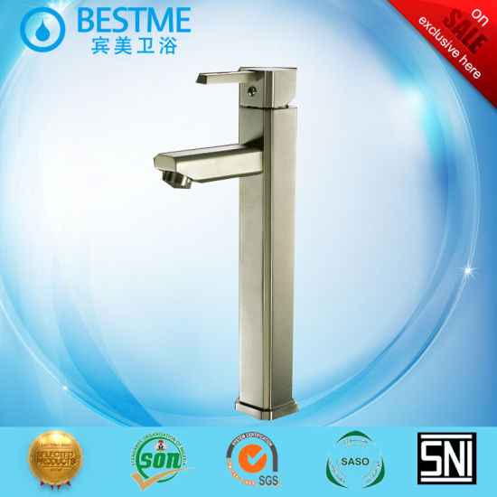 Bathroom Single Handle Waterfall Basin Faucets (BM-A10112) pictures & photos