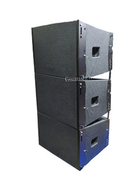 Professional Stage Line Array System Dual 15'' Self-Powered Line Array Speaker
