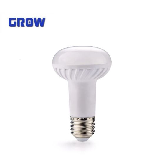 R63 High Lumen E27 4W/6W/8W/12W/15W/20W Plastic and Aluminium LED Bulb Lamp Light
