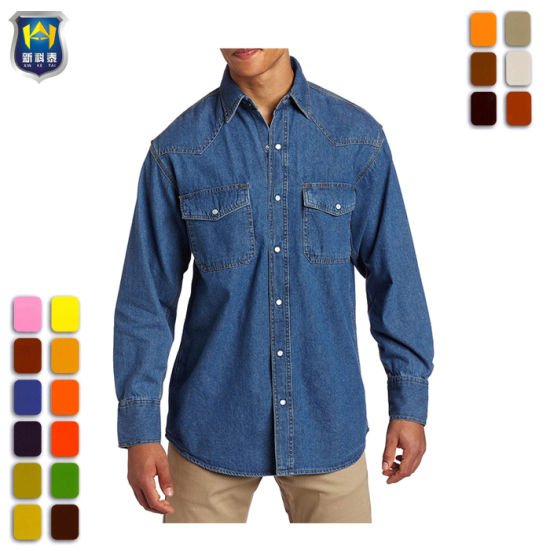 China Mechanic Safety Breathable Embroidery Print