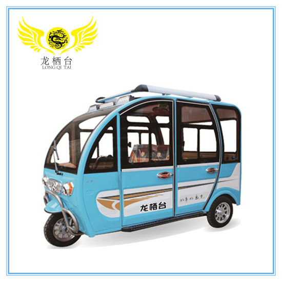 Popular Closed Electric Tricycle Adults with Passenger Seats