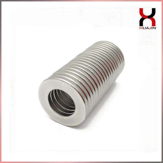 Ring Magnets, Neodymium Magnet in Ring Shape pictures & photos