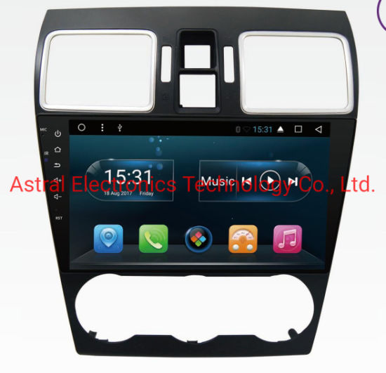 9-Inch Subaru Xv Impreza Forester 2016 Android Car Radio System with GPS Navigation Bluetooth Carplay DSP Aux RDS