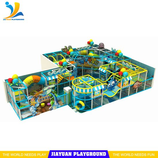 New Indoor Soft Playground Kids Zone Indoor Playground Equipment Toys for Children