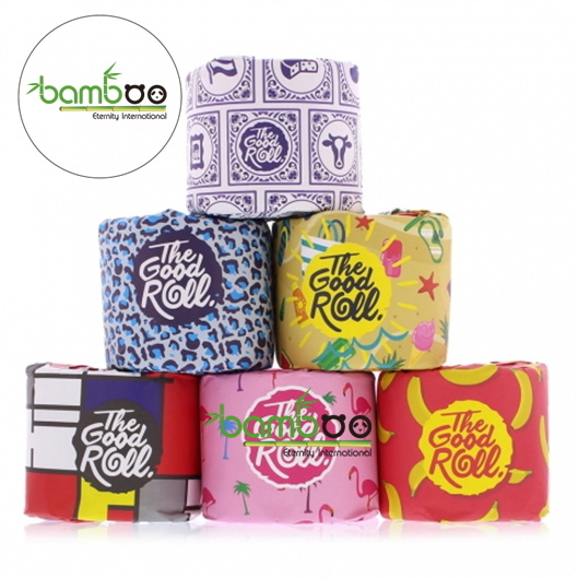 Bamboo Toilet Paper Tissue, Bamboo Tissue Paper, Embossing Bamboo Toilet Tissue pictures & photos
