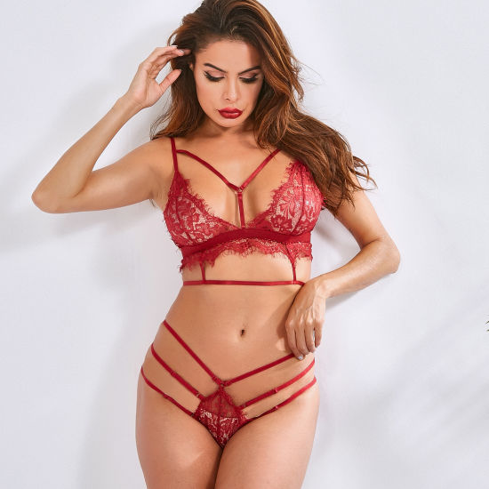 2019 Women′s Sexy Bralette Set Ml3916 pictures & photos